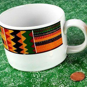 Ashanti Flat Cups by Shakura Set of 2